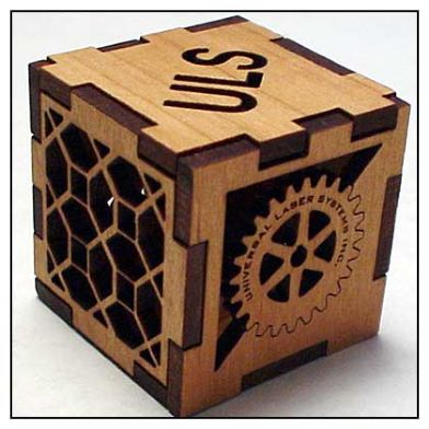 Kluz international universal laser lotus laser airwolf3d - Cubos de madera ...
