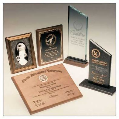Awards Plaques - Galvanos - kluz International